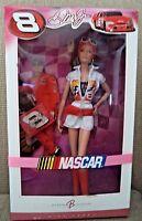 BARBIE COLLECTOR NASCAR DALE EARNHARDT JR PINK LABEL K7973 2006 *NEW*