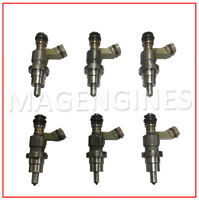 23250-46131 FUEL INJECTOR x 6 PCS SET TOYOTA 1JZ FOR SUPRA SOARER MARK-II CROWN