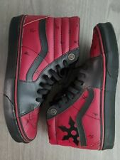 Mens VANS SK8-HI Marvel Deadpool Limited Edition Leather Size 9 HTF Gently Used