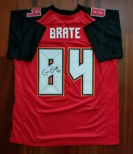 Cameron Brate Autographed Signed Jersey Tampa Bay Buccaneers JSA