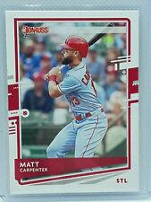 Matt Carpenter 2020 Donruss Baseball #203 St. Louis Cardinals