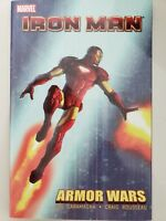 IRON MAN: ARMOR WARS TPB COLLECTION 2010 MARVEL COMICS NEW UNREAD!