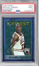 1995 Finest Michael Jordan W/COATING HOF #229 PSA 9 MINT