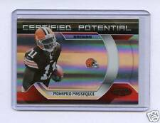2009 PANINI CERTIFIED POTENTIAL MOHAMED MASSAQUOI #/100