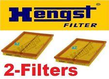 Set of 2 OEM  Hengst Air Filter for Mercedes CLK430    1999 to 2003