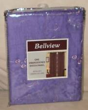 PURPLE & PINK EMBROIDERED SHEER PANEL ~ NIP