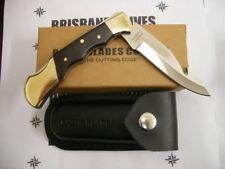 RAZOR BLADES BLACK RABBIT GUTHOOK POCKET HUNTING KNIFE