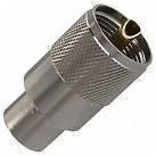 Pl259 Coaxial enchufes (7mm Para Mini-8 coaxial) (paquete De 10) Coaxial Conector De Antena