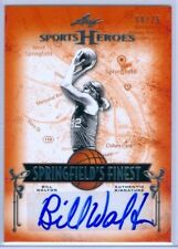 "BILL WALTON ""SPRINGFIELD'S FINEST AUTOGRAPH CARD #08/25"" LEAF SPORTS HEROES 2013"
