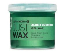 SALON SYSTEM JUST WAX ALOE + CUCUMBER GEL WAX 450G