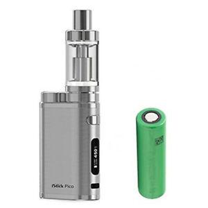 E-Zigarette Eleaf iStick Pico 75W + Melo 3 Verdampfer 4ml Tank + Akku, silber