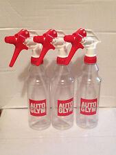 Autoglym Trigger Spray Bottle 500ml Valeting x 3.