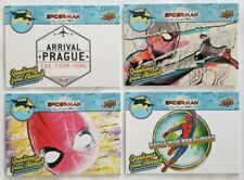 Upper Deck UD Marvel Spiderman Far From Home Venice 4-Card Greetings Abroad 2020