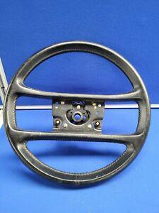 Porsche 911 4 Spoke Black Leather Steering Wheel in Black 09 Verl