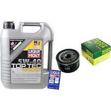 LIQUI MOLY 5L 5W-40 Motor-Öl+MANN-FILTER Opel Vivaro Kasten F7 2.0 16V