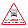 No Airbags Land Rover Discovery Defender Series 1 2 Decal Sticker