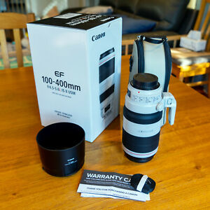 Canon EF 100-400mm f/4.5-5.6 L IS II USM Lens Excellent Condition With Case