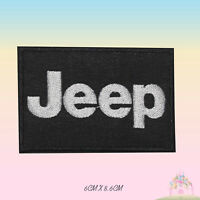 JEEP Car Brand Logo Embroidered Iron On Patch Sew On Badge Applique