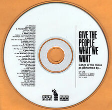 Kinks Compilación Promo CD sub Pop Mark Lanegan Mudhoney Murder City Devils