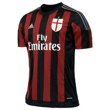 Adidas AC Milan Replica Home Player Jersey T-Shirt T-Shirt Uomo Nero S11836