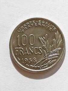 France : rare et belle  100 Francs Cochet 1958 !!!
