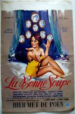 La BONNE SOUPE Belgian movie poster ANNIE GIRARDOT 1964 RAY ELSEVIERS