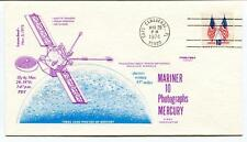 1974 Mariner 10 Photographs Mercury Cape Canaveral Pasadena Deep Space Network
