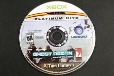 XBOX LIVE Platinum Hits Ghost Recon Island Thunder Tom Clancy Video Game Rated M