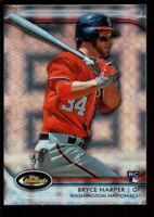 BRYCE HARPER MINT NATIONALS ROOKIE XFRACTOR #73 RC SP 2012 FINEST TOPPS CHROME