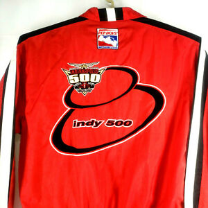 1999 83rd INDIANAPOLIS 500 VTG PEP BOYS Racing Jacket Zippered Wind Jacket XLG
