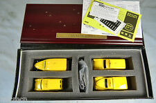 LLEDO VANGUARDS GIFT SET No.AA1004. 4 VEHICLE 'A.A.' COLLECTION AND PLINTH   MIB