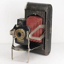 Kodak No 1.A Folding Pocket Camera * Red Bellows * RARE  (4728BL)