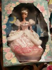 Special Limited Edition Cinderella Fairytale Holiday Barbie In Box