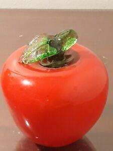 Murano Glass Apple