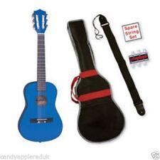 Guitares classiques bleus
