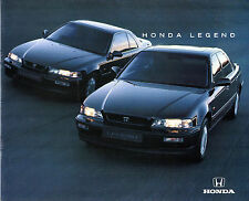 Honda Legend 1993-94 UK Market Sales Brochure Saloon Coupe