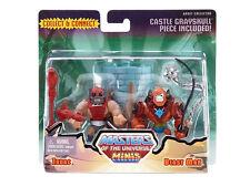 Mattel Masters Universe MOTU Classics Mini Masters ZODAC & BEAST MAN