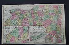 Antique Map, c. 1885 Tunison's, New York Z1#68