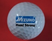 Pelota de golf con logo-Mizuho-Head strong-Financial Group japón-golf logotipo Ball