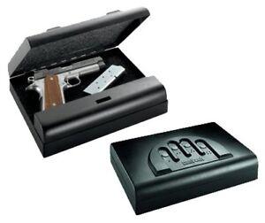 20 Gauge Steel Housing Pistol Gun Keypad Safe With Foam Lining And Back Up Key