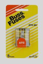 20 AMP AUTOMOTIVE MINI #ATM20LP-10PK LOW PROFILE BLADE FUSES 10 PACK