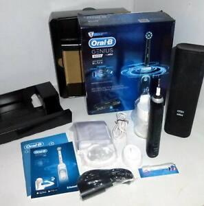 Oral-B Genius 9000 CrossAction Electric Toothbrush - Midnight Black