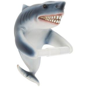 HOBBY LOBBY Shark Jaws Toilet Paper Holder Wall Mounted