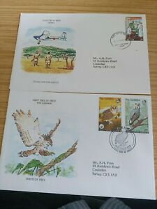Pair of British Commonwealth First Day Covers - 1970's & 1980's