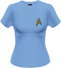 Star Trek - Sciences T-Shirt Femme / Ladies - Taille / Size S PLASTIC HEAD