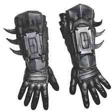 Batman Gloves Arkham Origins Superhero Fancy Dress Halloween Costume Accessory