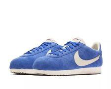 Nike Classic Cortez KM QS Kenny Moore 943088-400 Blue Suede UK 8.5 EU 43 US 9.5