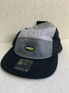 Nike Air Max AW84 AeroBill Cap Unisex Black Gray Hat 891297 065