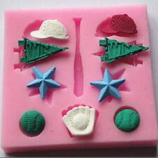 DIY Baseball Cup Silicone Mould Fondant Cake Mold Baking Chocolate Cookie Tool Z