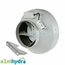 Systemair RVK 10 Inch A1 (250mm) In-Line Ducting Fan (860M3/Hour) Hydroponics